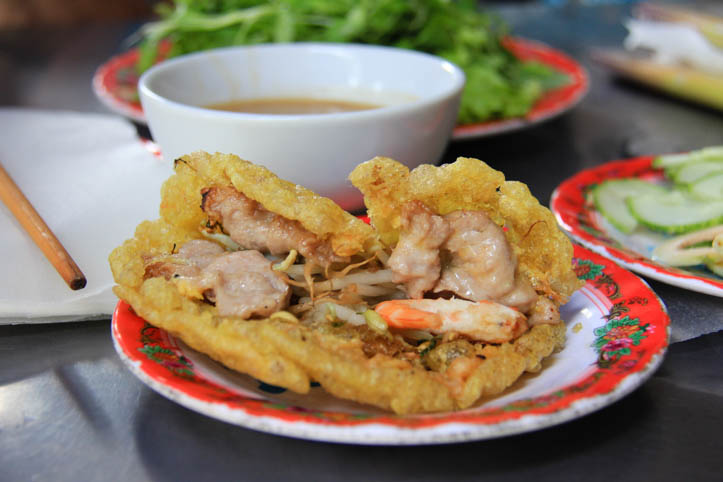 Banh Khoai or Happy Hue pancake