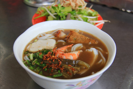 Bun Mam or Fermented Fish Soup
