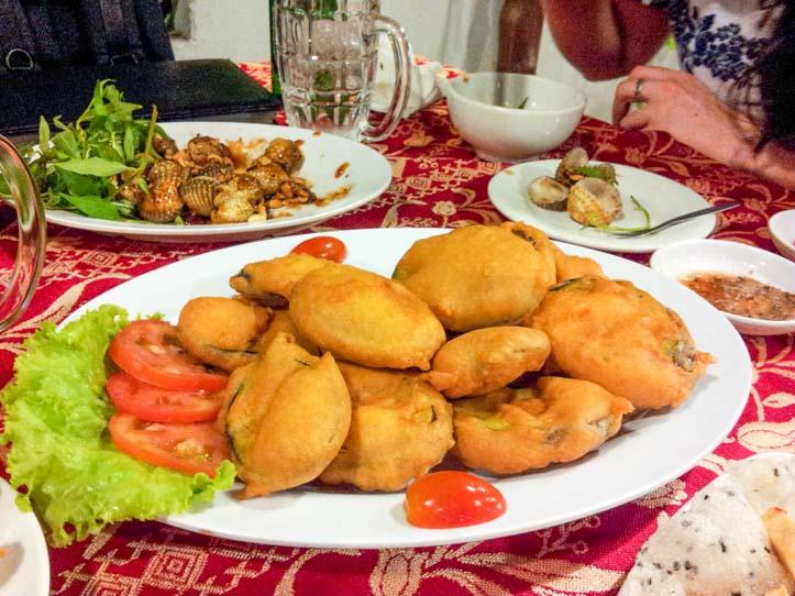 ca tim chien gion  deep fried eggplant  vietnamenu